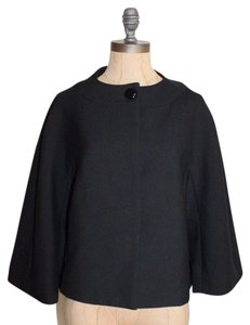 Ann Taylor Night Out Formal Wool BLACK Jacket