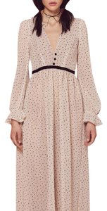 Cream and black polka dots Maxi Dress by For Love & Lemons