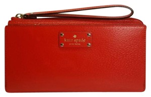 Kate Spade Wristlet in red cherry