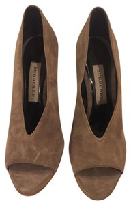 Burberry Grey Wedges