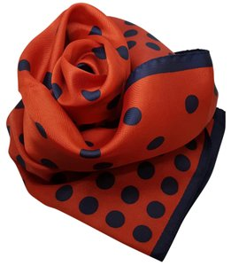 Classic Vintage Classic Vintage Red/Navy Blue scarf