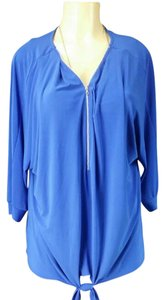 NY Collection Top Royal blue