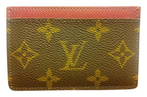 Louis Vuitton LOUIS VUITTON CARD HOLDER FUCHSIA