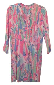 Lilly Pulitzer short dress Pink and blue shades on Tradesy