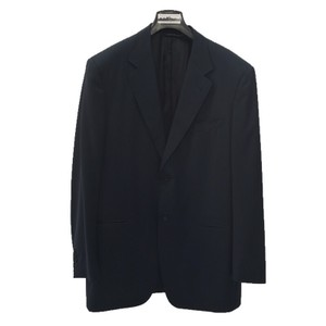 Canali CANALI MEN'S 2 BUTTON WOOL SUIT/ NAVY #121-48