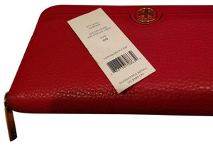 Tory Burch Tory Burch red wallet zip