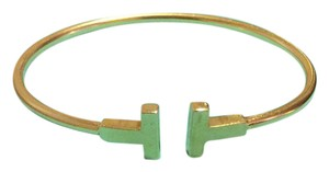 Tiffany & Co. Tiffany and co 18k medium t wire cuff bracelet