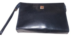 Givenchy Mint Vintage Dressy Or Casual Wristlet Or Chic & Versatile Classic/timeless super soft black leather Clutch