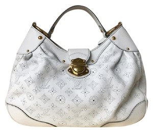 Louis Vuitton Mahina Solar Leather Hobo Bag