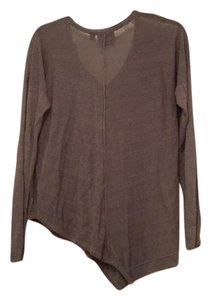 Simply Vera Vera Wang Top Gray