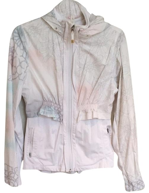 Item - White Hoodie Detachable 2 In 1 Activewear Outerwear Size 6 (S, 28)