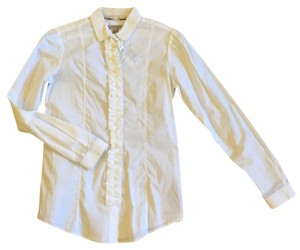 Burberry Button Down Shirt white