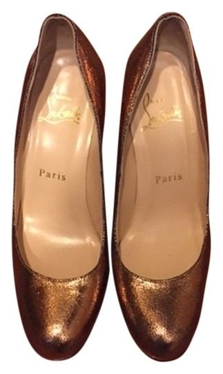 Christian Louboutin Bronze Pumps
