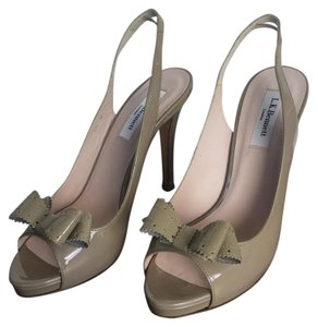 L.K. Bennett grey/taupe Pumps