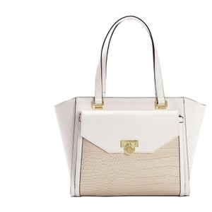 Anne Klein Satchel in Cloud/Bone