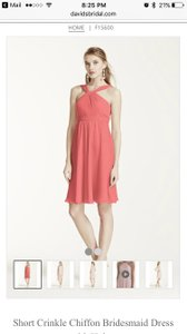 David's Bridal Coral Reef F15600 Dress
