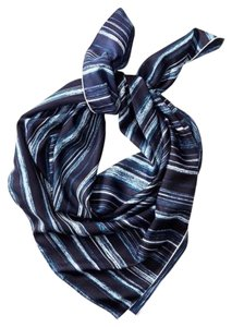 Banana Republic banana Republic strips printed silk scarf