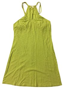 Athleta short dress Green on Tradesy