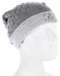 Chanel CHANEL CASHMERE SILK KNIT HAT