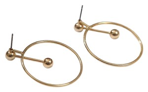 Adornmonde Adornmonde Ivo Gold Open Circle Ear Jackets