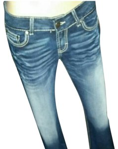 BKE Boot Cut Jeans-Acid