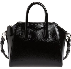 Givenchy Patent Antigona Mini Smooth Calf Cross Body Bag