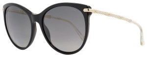 Gucci BLACK GOLD CRYSTAL POLARIZED SUNGLASSES GG 3771/N/S