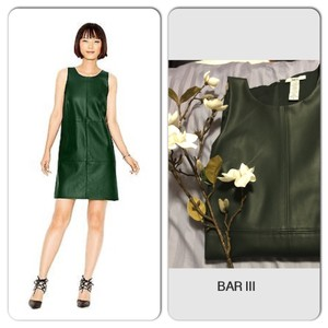 Bar III short dress green-evergreen. on Tradesy
