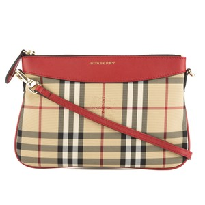 Burberry Red Clutch