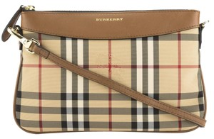 Burberry Tan Clutch