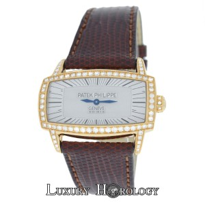 Patek Philippe Ladies Patek Philippe Gondolo 4981R Diamond 18K Rose Gold MOP