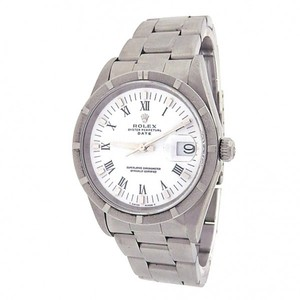 Rolex Rolex Date 15010 Stainless Steel Oyster Automatic White Men's Watch