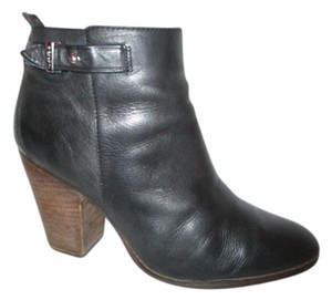 Coach Leather Ankle black Boots