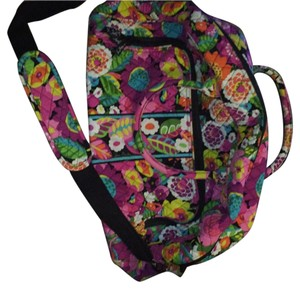 Vera Bradley floral Travel Bag