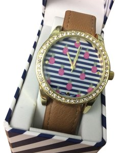 Jessica Carlyle NWOT Women's Jessica Carlyle Pineapple Stainless Steel & Quartz Movt