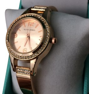 Alexis Bendel Women's Watch Alexis Bendel Rose Gold Round Face Stainless Steel, Quartz Movt