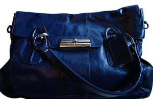 Coach Limited Edition Leather Satchel in Blue