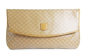 Céline Monogram with gold hardware Clutch