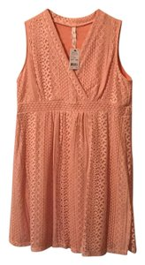 NY Collections short dress peach on Tradesy