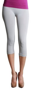 Nikibiki Metal Leggings Gym Workout Capris Gray