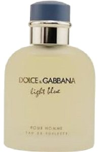 Dolce&Gabbana LIGHT BLUE by D&G Pour Homme 4.2 oz 125 ML EDT ( no box) NEW.