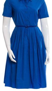 Max Mara short dress Blue on Tradesy