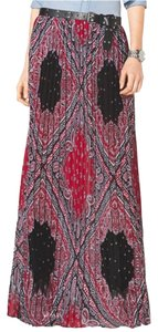 Michael Kors Nwt Bandana Maxi Skirt multicolor