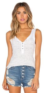 Free People Ob473128 Time Out Top black and ivory