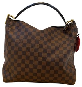 Louis Vuitton Lv Portobello Damier Ebene Handbag Shoulder Bag