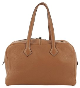 Hermès Leather Tote in Brown
