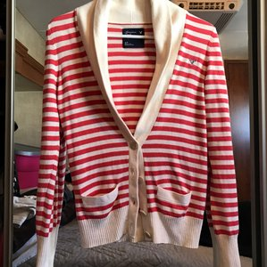 American Eagle Outfitters Striped Classic Pockets Cardigan