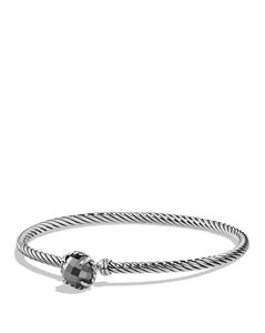 David Yurman David Yurman 3MM Hematine Chatelaine Bracelet w/BOX