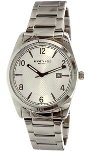 Kenneth Cole 10031331 Men's Silver Steel Bracelet With Silver Analog Dial