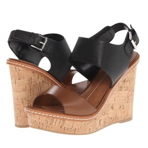 Dolce Vita Black, Brown, Cork Wedges